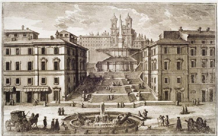 Строительство Испанской лестницы в Риме - история сооружения