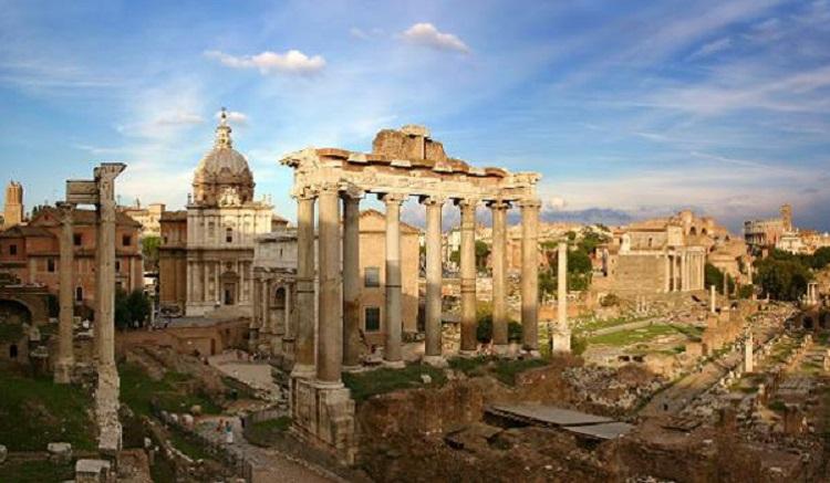 Древний Рим и легендарные братья Ромул и Рем, которые основали город
