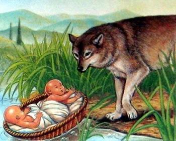 Легенда о Капитолийской волчице, вскормившей братье Ромула и Рема