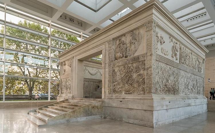 Алтарь мира в Риме - описание, история строительства сооружения