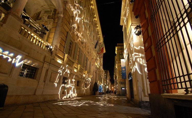 Чем знаменита улица Виа Гарибальди в городе Генуя в Италии