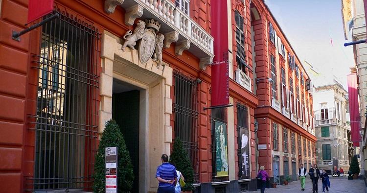 Что посмотреть на улице Виа Гарибальди в итальянском городке Генуя