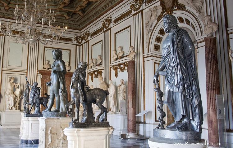Где находятся Капитолийские музеи Рима