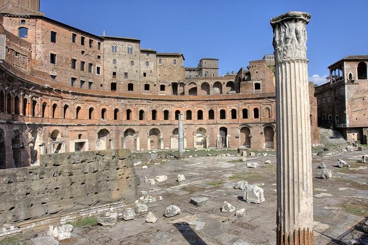 Императорские форумы - чем знамениты развалины Древнего Рима