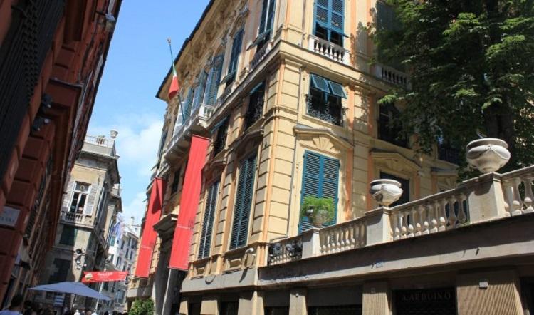 Палаццо Россо в Генуе и какие еще дворцы находятся на улице Виа Гарибальди