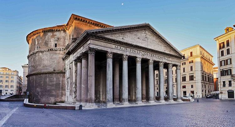 Пантеон - Храм всех Богов в Риме - описание и фото достопримечательности
