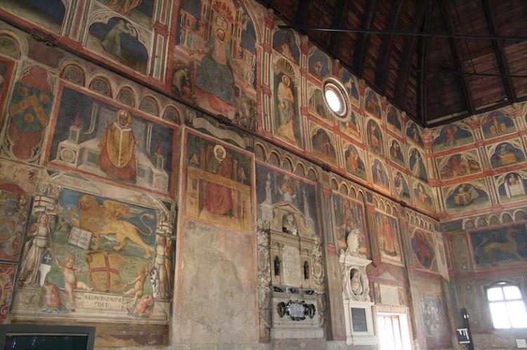 Фрески в Кафедральном соборе Падуи