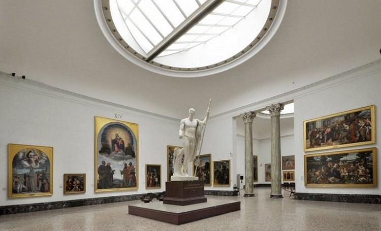 Галерея искусств - Пинакотека Брера в итальянском городе Милан