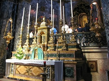 Мадонна ди Сан Люка в Болонье и чудотворная икона