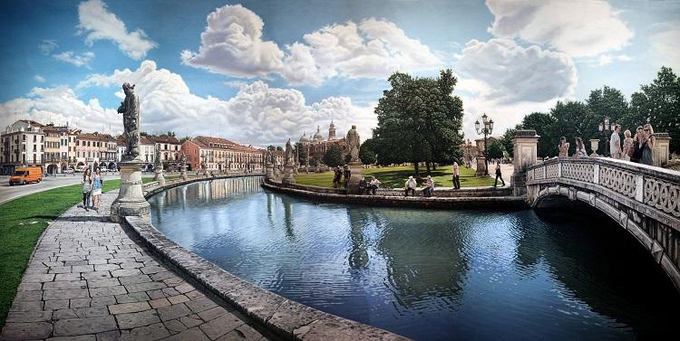 Площадь Прато делла Валле - немного истории о достопримечательном месте