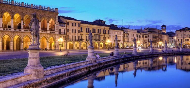 Прато делла Валле в Падуе - площадь чудес в Итальянском городке