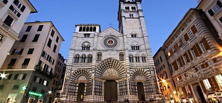Собор Сан Лоренцо в Генуе - описание древнео сооружения