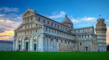 Знаменитый Пизанский Собор и история строительства достопримечательности