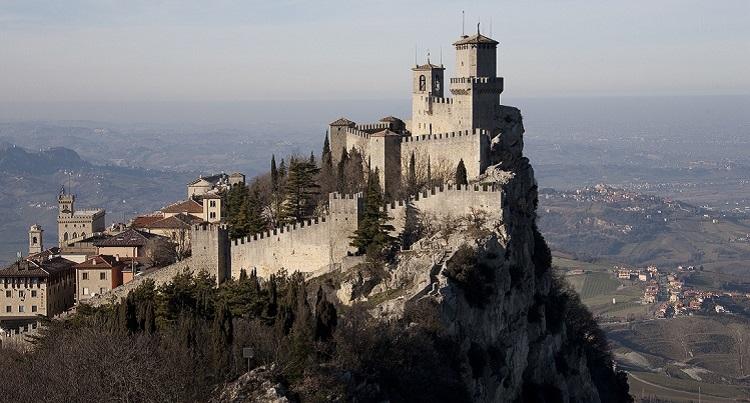 Башня Гуаита - визитная карточка итальянского города Сан-Марино