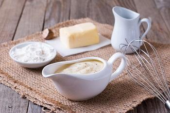Белый соус бешамель - для каких бдлю обычно используется