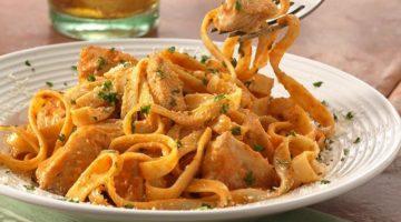 Фетучини с курицей - рецепт приготовления итальянского блюда