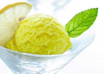 Итальянское мороженое джелато - рецепт приготовления десерта с лимоном