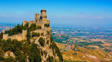 Крепость Гуаита - главная достопримечательность города Сан-Марино