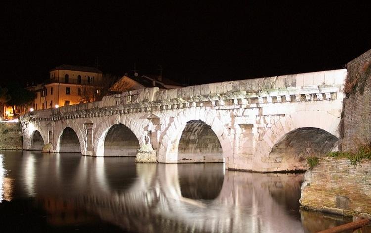 Мост Тиберия в Римини - как строилось древнее сооружение