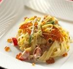 Паста с семгой в сливочном соусе - рецепт приготовления в домашних условиях