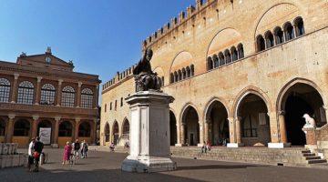 Площадь Кавур в Римини - немного истории о достопримечательном месте