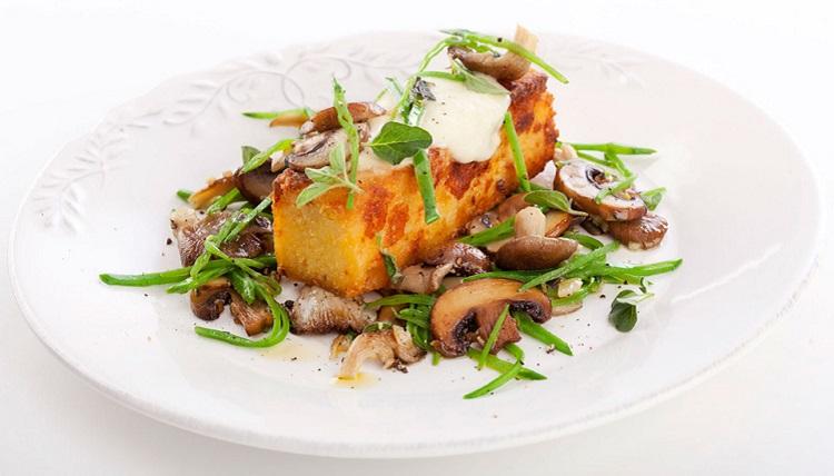 Полента с грибами - рецепт приготовления итальянского блюда