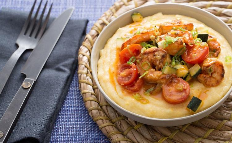 Полента с креветками - рецепт приготовления итальянского блюда