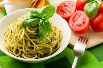 Спагетти с соусом песто - приготовление в домашних условиях