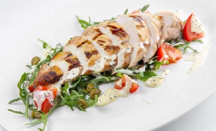 Тальята с курицей и белой фасолью - пошаговый рецепт