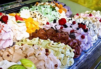Виды итальянского мороженого джелато и главные ингредиенты десерта